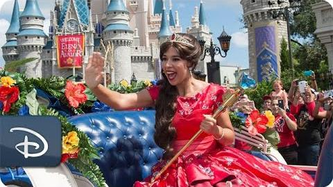 Princess Elena Royal Welcome Highlights Walt Disney World