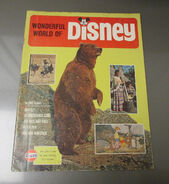 The Wonderful World of Disney 1969 Magazine