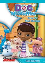 Doc McStuffins Time For Your Check Up DVD