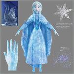 Iced Anna Concept Art
