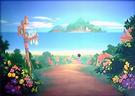 Destiny Islands Mainland (Art)