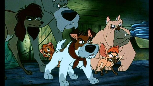 File:Oliver still under the protection of Dodger and the gang.jpg