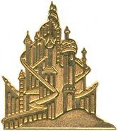 WDW - Cast Lanyard Series - King Triton's Castle