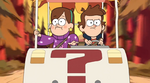 Dipper and Mabel in Mystery Cart