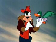 Goofy and duck