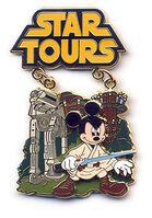 WDW - Featured Attraction Collection 2008 (Mickey Mouse Star Tours)