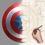 Captain america's conceptual desigin