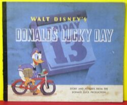 Donald's lucky day book