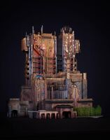 GOTG Mission Breakout Building Model
