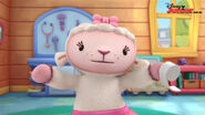 Lambie in mcstuffins school of medicene