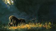 The lion king concept art 6