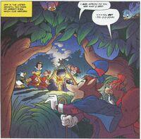 Disney's characters in DuckTales 2