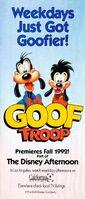 Goof Troop - Print Ad from 1992 Disneyland Guide