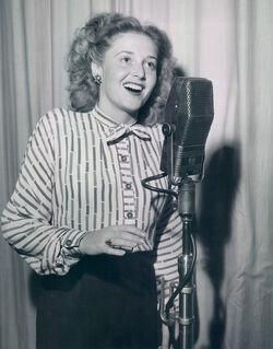 Norma Zimmer circa 1940s