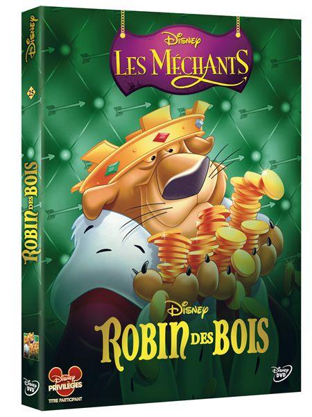 Image  Disney Mechants DVD 8  Robin des Boisjpg  ~ Image Robin Des Bois Disney