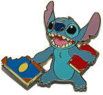 DisneyShopping.com - Back to School Series Stitch Pin