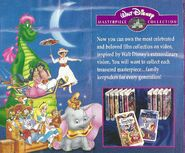 Walt Disney Masterpiece Collection - 1995 Promotional Print Advertisment - Characters and Introduction