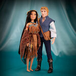 Disney Fairytale Designer Collection - Pocahontas and John Smith Dolls