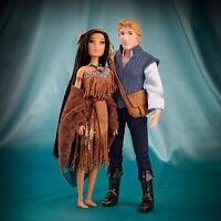 Disney Fairytale Designer Collection - Pocahontas and John Smith Dolls