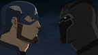 Captain America and Black Panther AUR 01