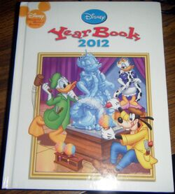 Disney yearbook 2012