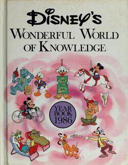 Disneys wonderful world of knowledge year book 1986