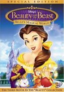 Belle's Magical World DVD Cover