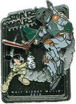Boba Fett and Mickey Disney Weekends 2010 pin