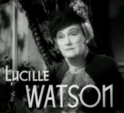 Lucille Watson in Waterloo Bridge trailer