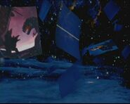 The Stegosaurus and the T-Rex in Fantasia 2000