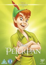 Peter Pan UK DVD 2014 Limited Edition slip cover