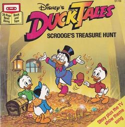 DuckTales Scrooge's Treause Hunt Book Cover