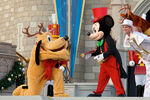 Mickey pluto xmas show