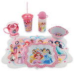 Disney Princess 2014 Happy Meal Time Collection