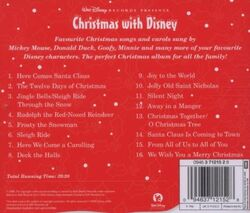 Christmas with disney back cover