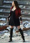 Scarlet Witch on Aou set