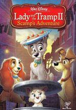 LadyandtheTrampIIScampsAdventure 2006 DVD