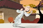 Ron stoppable falling