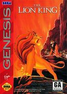 The Lion King Sega Genesis Cover