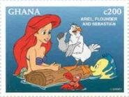 ArielFlounderandSebastian-stamp