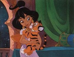 Jasmine and Rajah Tales From Agrabah