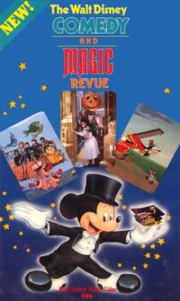The walt disney comedy and magic revue