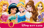 Disney Princess Gift Card 2