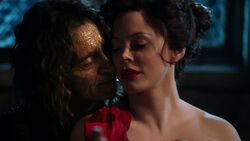 Once Upon a Time - 2x16 - The Miller's Daughter - Cora and Rumplestiltskin Spin Gold
