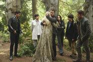 David hugging Emma - The Dark Swan