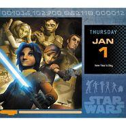 Star Wars Rebels calander 1