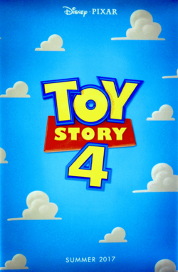 Toy Story 4 D23 Poster