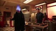 Once Upon a Time - 5x17 - Her Handsome Hero - Hades Fire Head