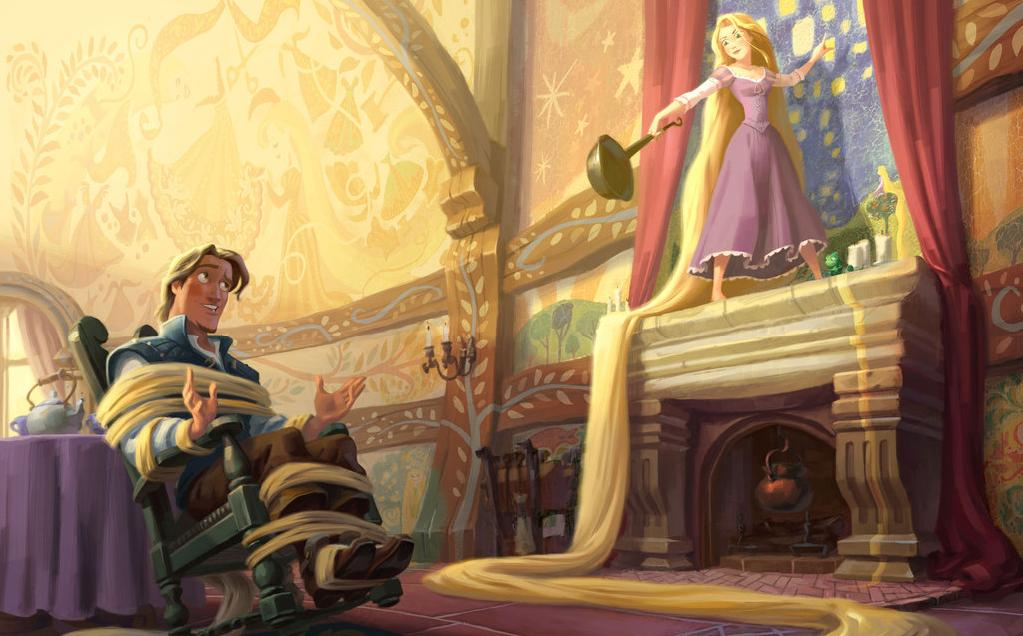 image rapunzel story 6 jpg disney wiki fandom powered by wikia. Black Bedroom Furniture Sets. Home Design Ideas