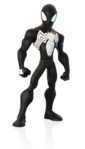 Disney INFINITY Black Suit Spider-Man Render